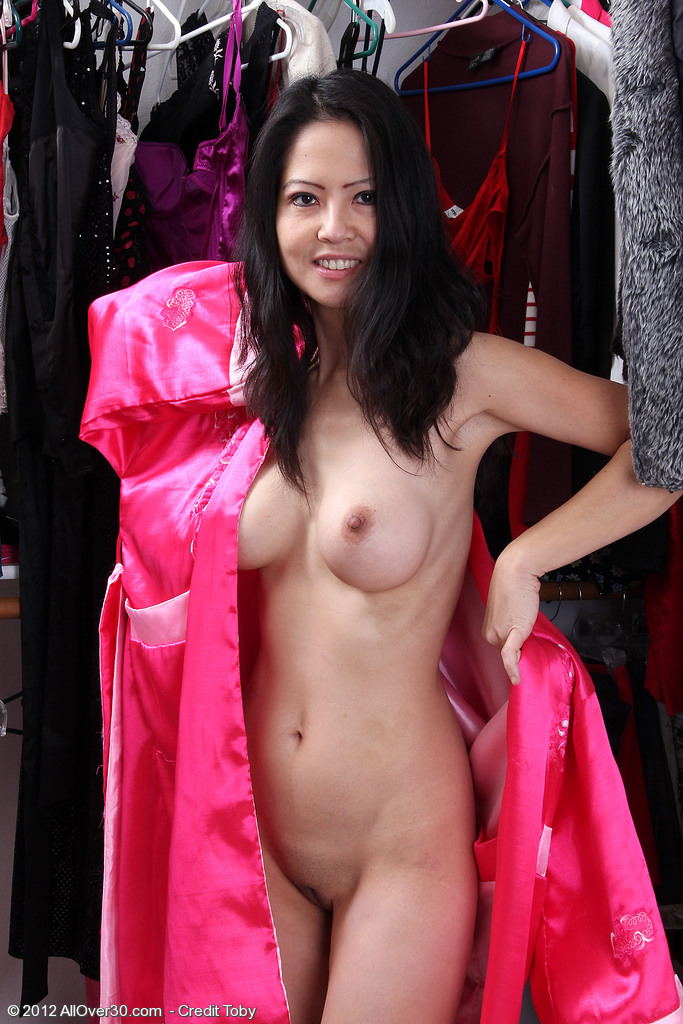 Decadent  Cougar Ruby Mercy Shows off Her 42 Year Old Oriental Body Here