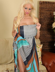 Big Tittied Holly Brooks from  Onlyover30 Sets Her Big Bra-stuffers Free in Here
