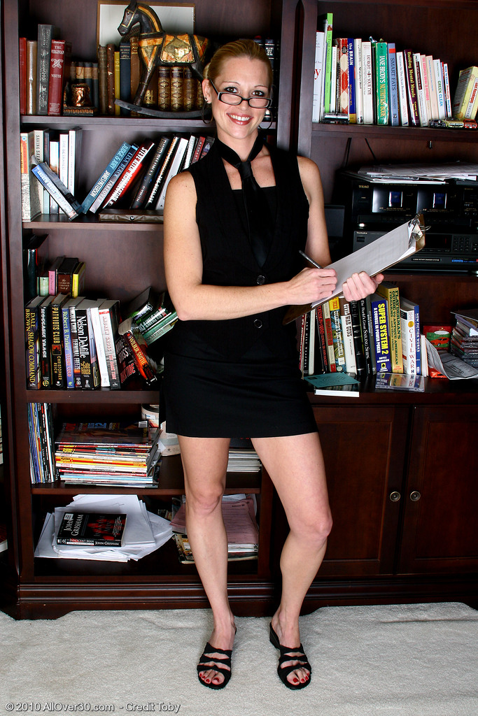 Thirty Year Old Kyra  Undresses and  Opens at the Back of the Public Library