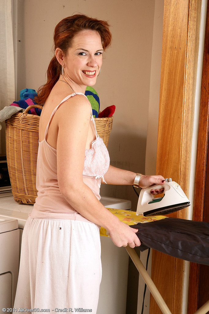 Redheaded Milf Megan from  Onlyover30 Makes a Decision to Undress Just for You