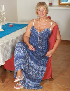 At 62 Years Old Samatha T Keeps Her Mature  Hoo Ha Neatly Trimmed