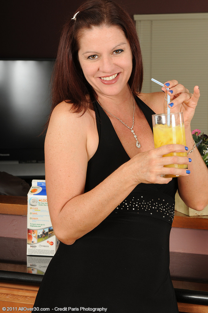 39 Year Old Xena from  Onlyover30  Takes off After Liking a Bit of Oj