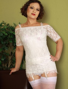 Hot Fur Covered Pussied 36 Year Old Anna P Posing Inside Tight White Underware