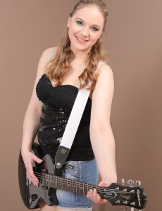 33 Year Old Niky Devine from  Onlyover30 Positions  Nude with Her Guitar