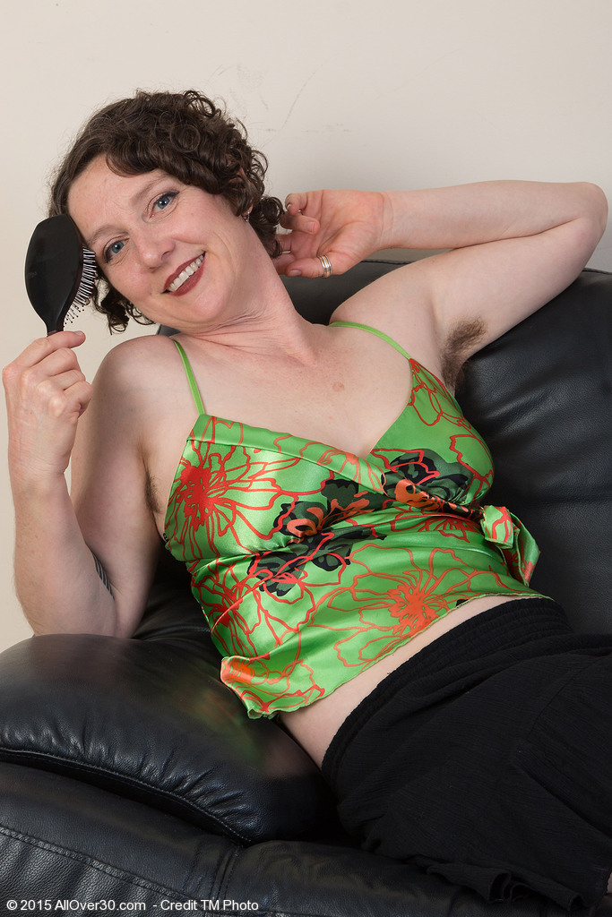 42 Year Old Artemesia from  Onlyover30  Opens Her Wooly Ass in Here