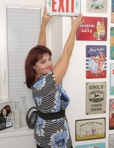 Older Honey Natalia Muray Collects Vintage Signs and Can't Live Without to Tease