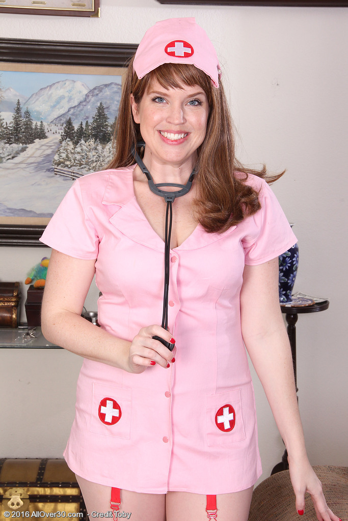 Big Breasted Holly Fuller is a Crazy Nurse Mummy