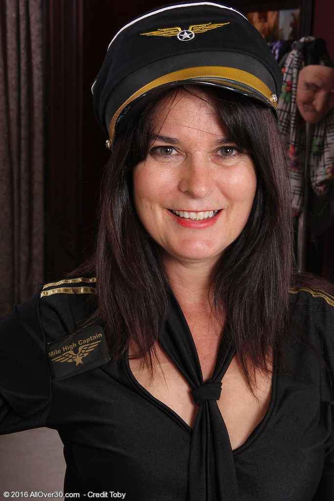 Captain Sherry Lee is Willing to Takeoff Her Clothes
