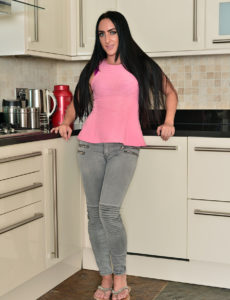Chloe Lovette Nude in the Kitchen
