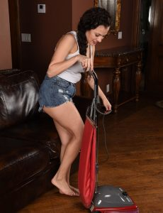 Marvelous Alejandra Cleans Up