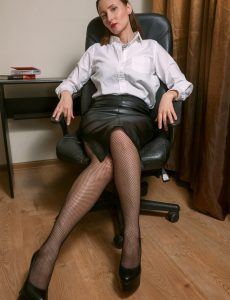 Slutty Secretary Alena K