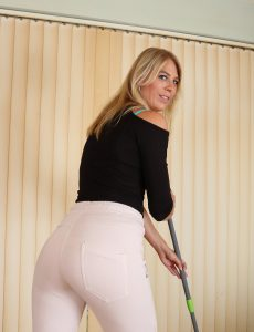 Blond Haired Honey Jentina Petite