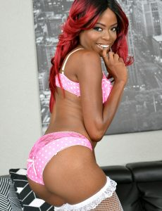 Melody Cummings Pink  Undies