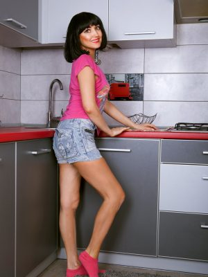 Sexy Sakyra Kitchen Strip