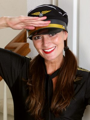 Beautiful Captain Veronica Johnson