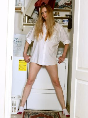 Phoebe Waters Performing Laundry