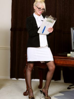 MaryAnne Moore Blonde Secretary