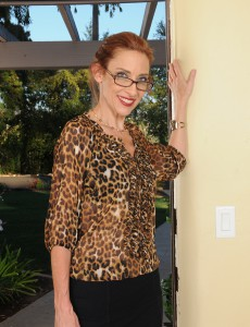 Thin 43 Year Old Betty Blaze Looking Hot in Her Glasses and Heels