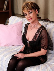 Lacy 42 Year Old Eszti from  Onlyover30 Widens Her Curly Twat Here