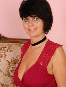 Sexually Excited 56 Year Old Eve Demonstrating a Ideal Couple of  Older Babe Bra-stuffers Here