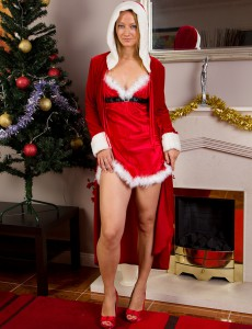 Magnificent  Older Babe Tara Trinity Wishes to Share Her Christmas Spirit with You