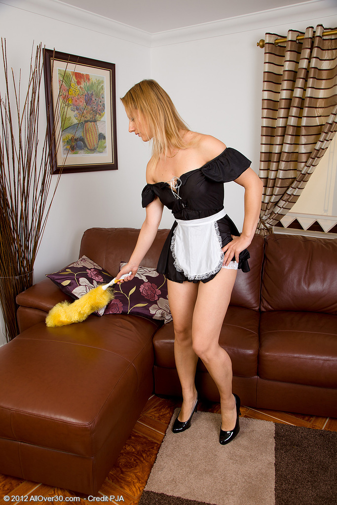 Beautiful Tara Trinity is Your Dearest French Female House Slave in and out of Clothes