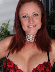 Breasty  Older Babe Shelly Jones from  Onlyover30 Showcasing Worthy Pink