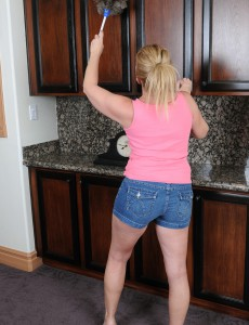 Super Horny 53 Year Old  Wife Summer Sands Doing Wicked Chores