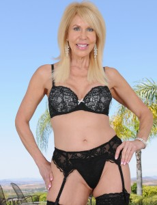 Alluring 60 Year Old Erica Lauren from  Onlyover30 Posing in Panties