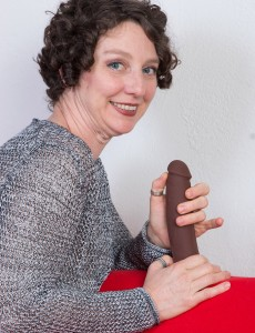 42 Year Old Artemesia from  Onlyover30 Having Fun with a Big Brown  Dildo