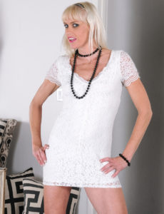 Leggy  Blond Haired Milf Angelique H