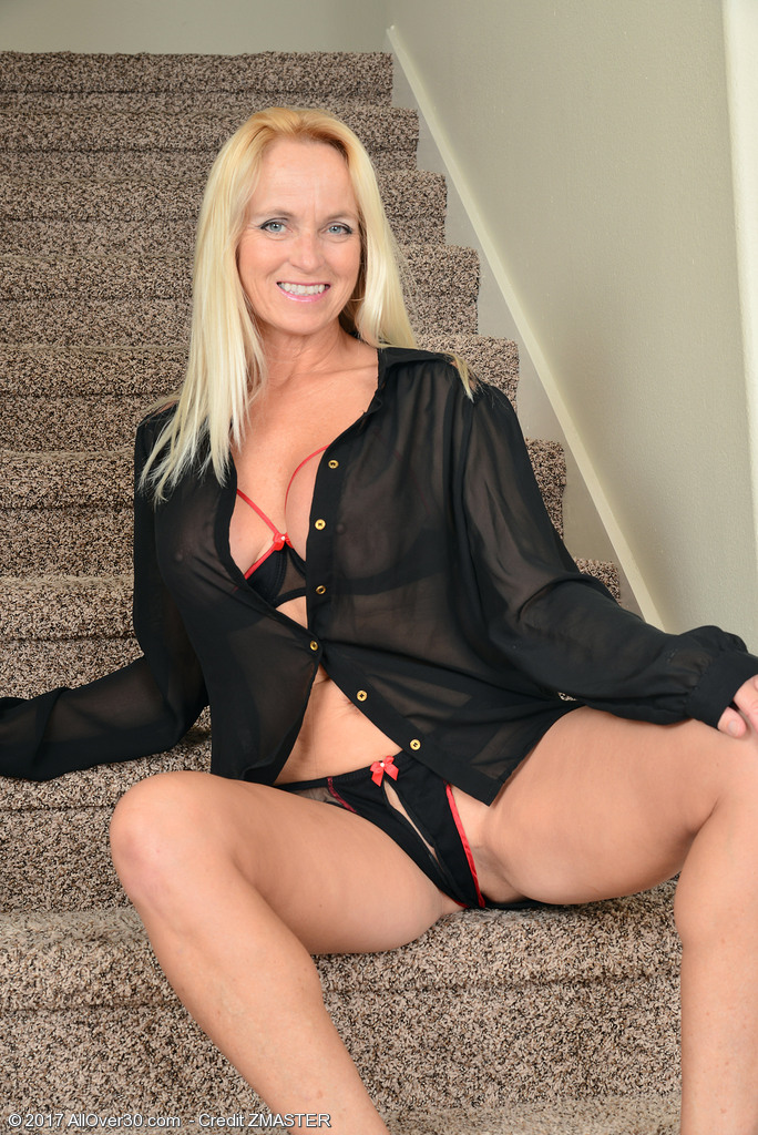 Dani Dare Undressed on the Stairs